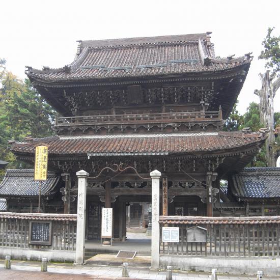 善徳寺山門