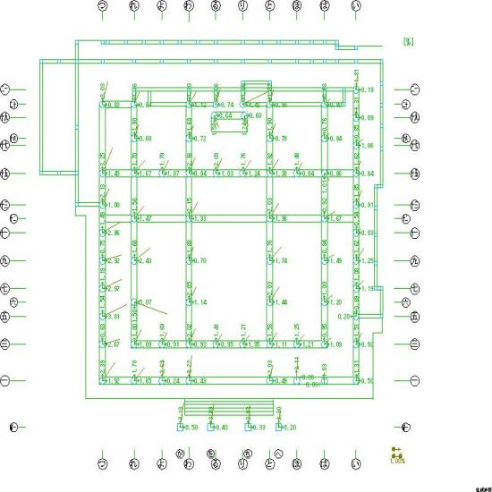 善徳寺傾斜図