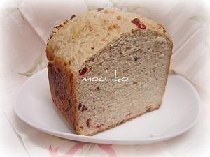 20110126オートミールとクランベリーとアーモンドのパン早焼き