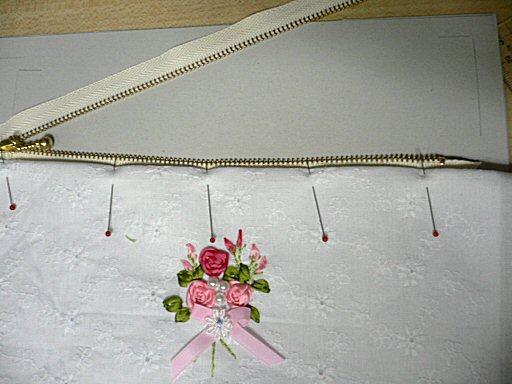 リボン刺繍4