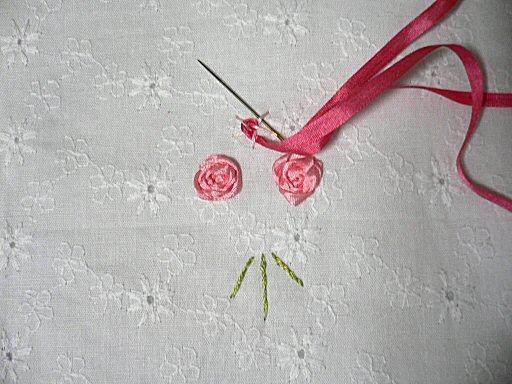 リボン刺繍2