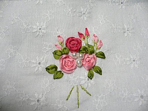 リボン刺繍3