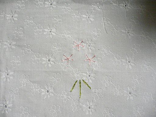 リボン刺繍1