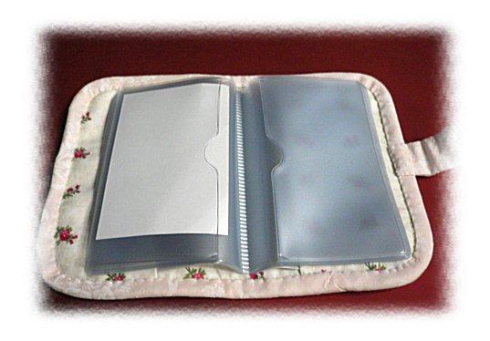 リボン刺繍カードケース2