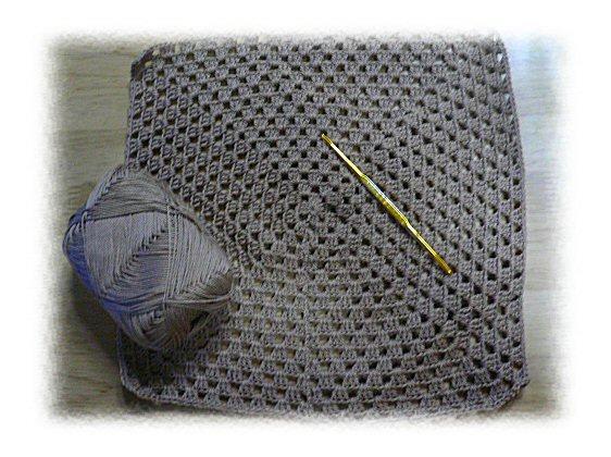グラニーバッグ手編み5