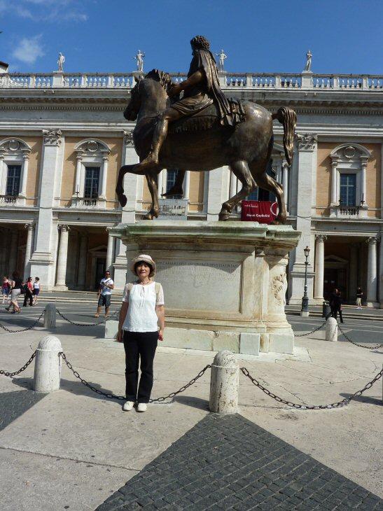 ローマカンピドーリオ広場1