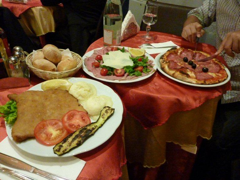 夕食ミラノ風6P1140608