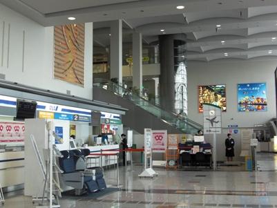 佐賀空港内部
