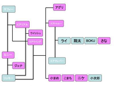 広島親戚会 家系図