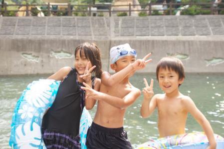 神之川 キャンプ
