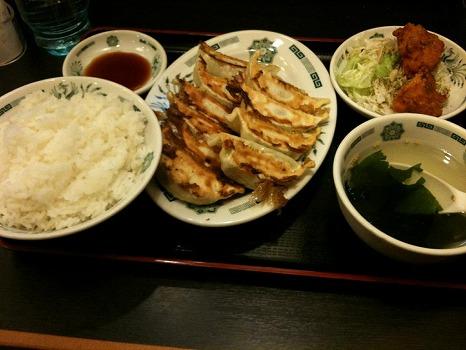 s-W餃子定食