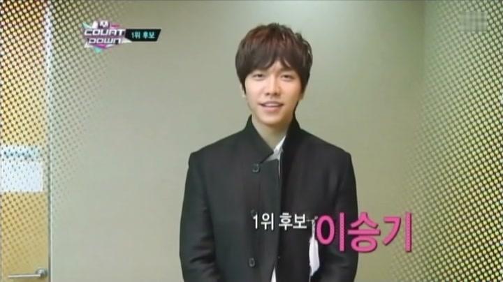イ・スンギ M Countdown(字幕付) 出演映像(2012.12.13放送分)