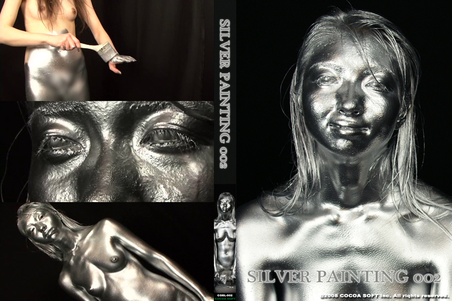 SILVER PAINTING002