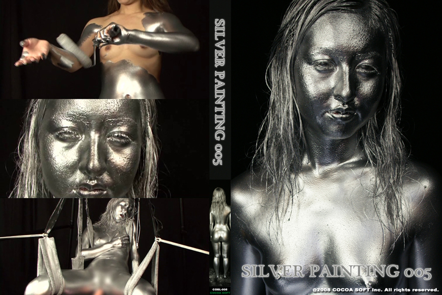 SILVER PAINTING 005