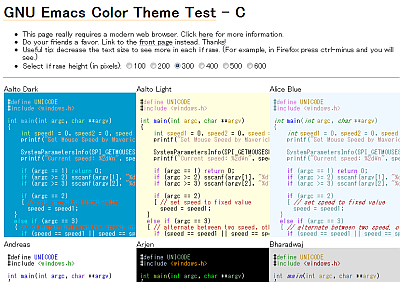 Color Theme C Sample