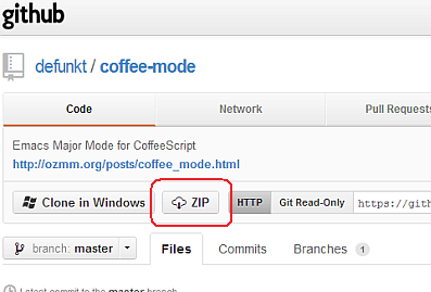 coffee-mode.el download