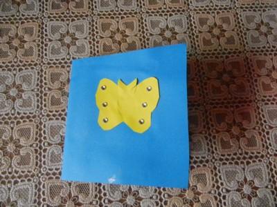 チョウチョのカード