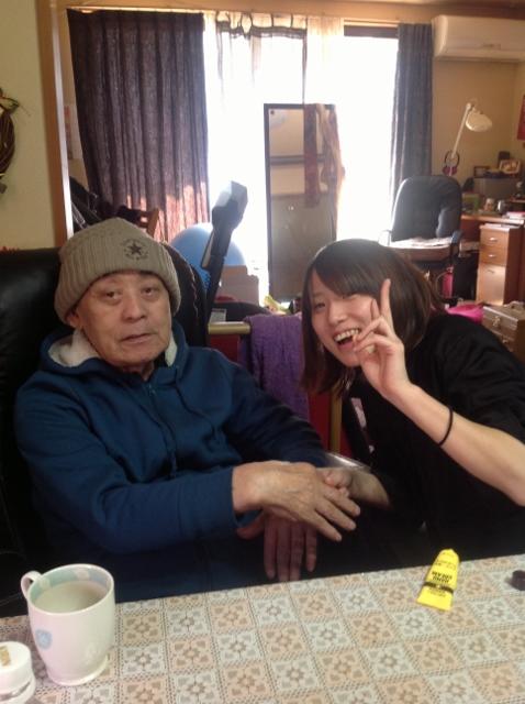 仲良しの娘とサトシさん