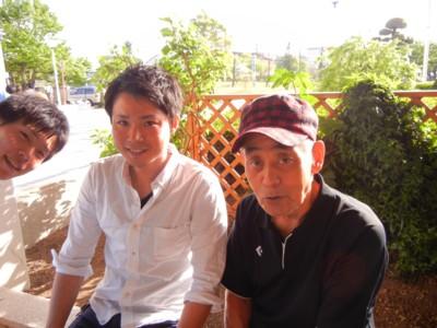 りょうちんと花道とサトシさんとあーちゃん