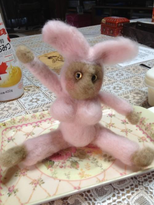 羊毛フエルトの人形 パート2