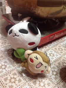 RIKOさんのぬいぐるみで癒されます。