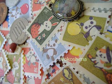 切手 イチゴウサギ5