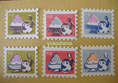 ペンギン切手3
