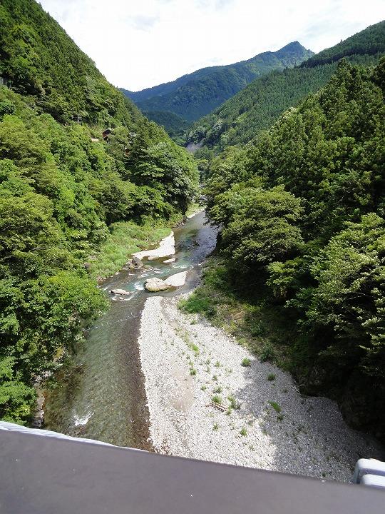 奥多摩吊り橋02