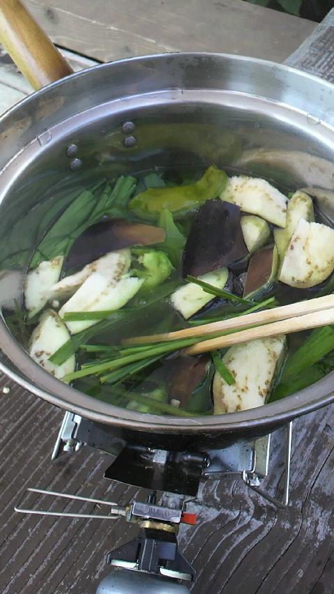 畑の野菜ラーメン