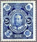南ア連邦最初の切手