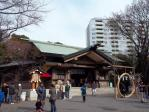 東郷神社本殿