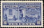 アメリカ特別配達用切手10セント