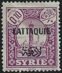 ラタキア加刷(1931)