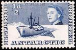 英領南極・最初の切手