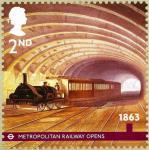 ロンドン地下鉄150年