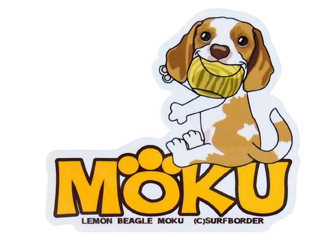 mokuステッカー