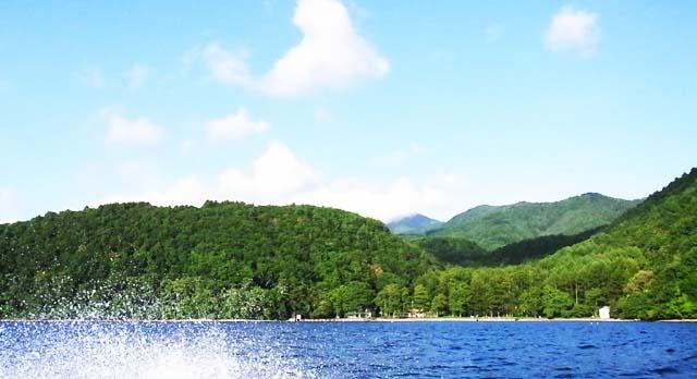 0911野尻湖からの景色