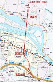 松江だんだん道路拡大図
