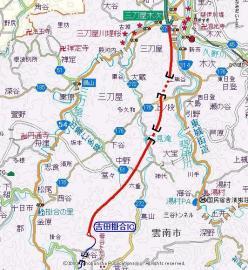 松江道詳細図
