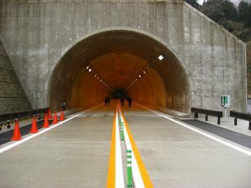 上熊谷トンネル坑口