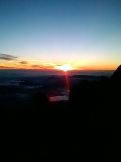 8月2日 富士山頂からの御来光