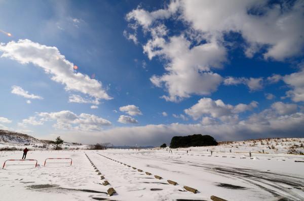 雪の秋吉台 082