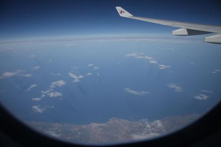 チュニジアの空?