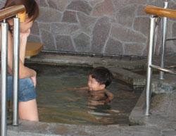 子どもにはお風呂
