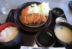 黒豚ヒレカツ定食