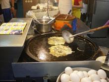 牡蠣オムレツ