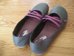 カンペール風の靴