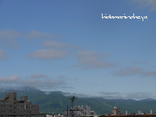 朝の青空110616