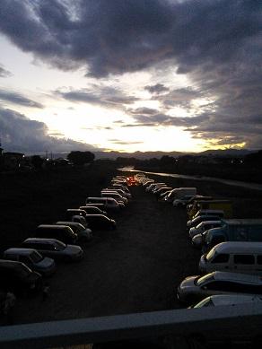 花巻祭駐車場
