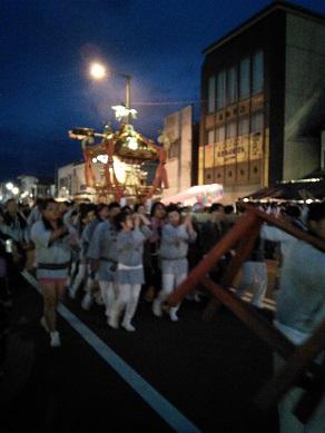 花巻祭 神輿